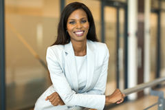 Female corporate worker Stock Image
