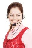 Female customer care representative Stock Photography