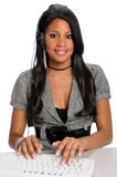 Female Customer Representative Royalty Free Stock Images