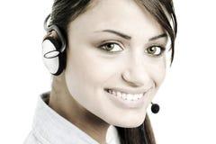 Female customer service Stock Photos
