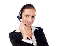 Female customer service Royalty Free Stock Photos