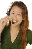 Female customer service Stock Images