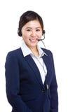 Female customer service operator Royalty Free Stock Photography