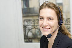 Female customer service Stock Photography