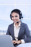 Female customer support Royalty Free Stock Images