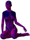 Female Cyborg Stock Image