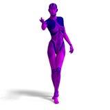 Female Cyborg Royalty Free Stock Image