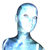Female Cyborg Royalty Free Stock Photo