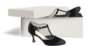Female dance shoes Stock Photos