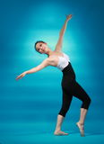 Female dancer Royalty Free Stock Images