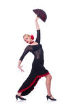 Female dancer Royalty Free Stock Photos