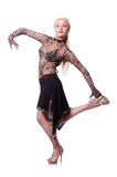 Female dancer dancing Stock Photo
