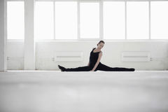 Female Dancer Doing Splits Royalty Free Stock Photo
