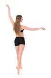 Female dancer in movement Stock Image