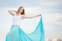 Female dancer poses Royalty Free Stock Photography