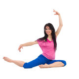 Female dancer posing Royalty Free Stock Images