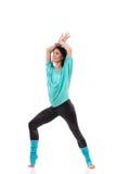 Female dancer posing. Stock Images