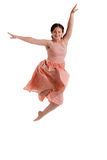 Female Dancer Studio Photo Isolated Stock Images