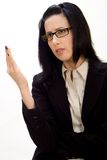 Female Debating Stock Photos