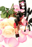Female decorative cosmetics Royalty Free Stock Image