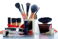 Female decorative cosmetics Royalty Free Stock Photo