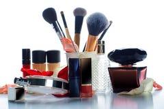 Female decorative cosmetics Royalty Free Stock Photo