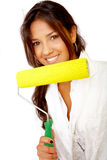 Female decorator Stock Photos