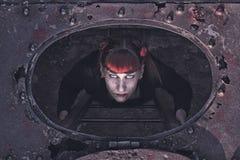 Female demon Royalty Free Stock Photography