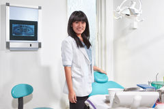Female Dentist Stock Photography