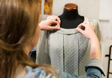 Female designer royalty free stock image