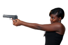 Female Detective Stock Photography