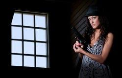 Female Detective Royalty Free Stock Photo