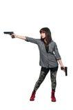 Female Detective Royalty Free Stock Photos