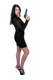 Female Detective Stock Photo