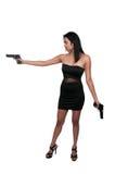 Female Detective Royalty Free Stock Image