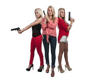 Female Detectives Stock Images