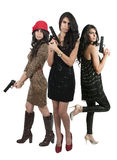 Female Detectives Royalty Free Stock Images