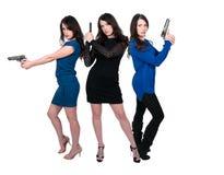 Female Detectives Royalty Free Stock Image