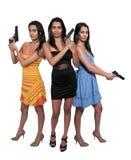 Female Detectives Royalty Free Stock Photos