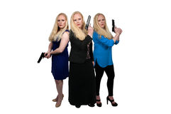 Female Detectives Royalty Free Stock Photography