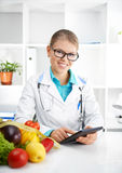 Female Dietitian Royalty Free Stock Image