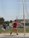 Female Discus thrower Stock Photos