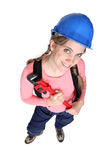 Female DIY enthusiast Stock Photo