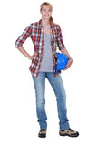 Female DIY enthusiast Royalty Free Stock Photography