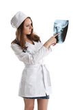 Female doctor. Royalty Free Stock Photo