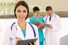 Female doctor Stock Images