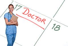 Female Doctor Royalty Free Stock Images
