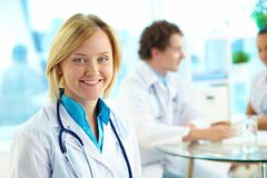 Female doctor Royalty Free Stock Photos