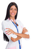 Female doctor with friendly smile Stock Photography