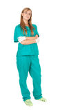 Female doctor, full length Royalty Free Stock Photography